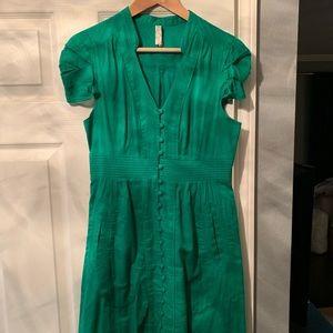 Size 6 beautiful green Anthropologie dress!